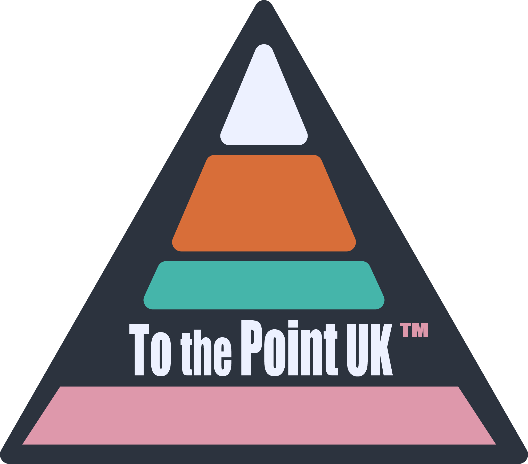 To the Point UK logo top up all colours